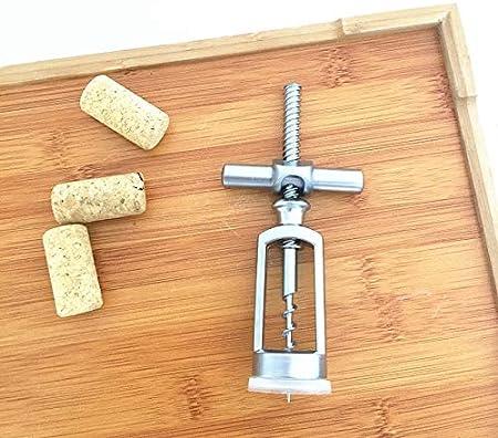 Binchil Ffner - Sacacorchos de aleación de cinc, diseño de palanca, sacacorchos para bar, herramienta de regalo, tapón de vino