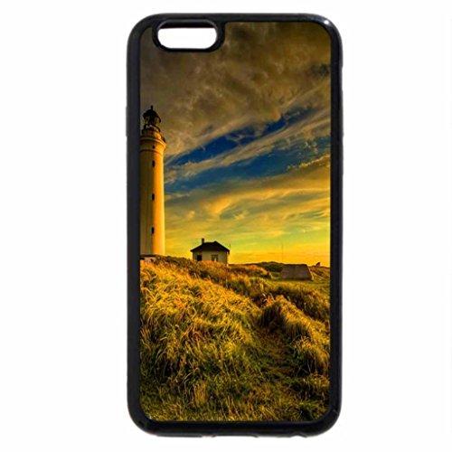 iPhone 6S / iPhone 6 Case (Black) Lighthouse at sunrise