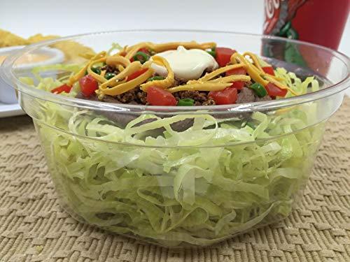 (Replica Taco Salad Bowl Realistic Mexican Food Display Decor Prop Food Fake Food )