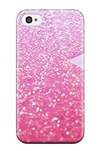 iphone covers New Arrival Cover Case With Nice Design For Iphone 6 4.7- Glittery Pink And A Heart