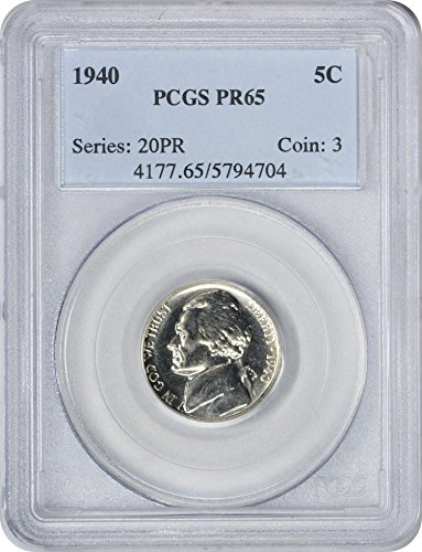 1940 Jefferson Nickel PR65 PCGS ()