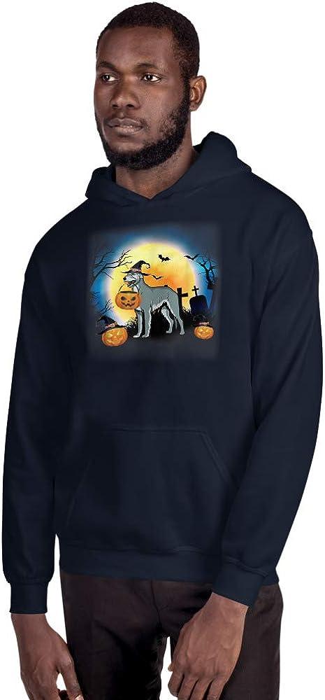 TEEPOMY Funny Irish Wolfhound Hooded Sweatshirt
