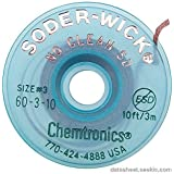 CHEMTRONICS 60-3-10 BRAID, DESOLDERING, NO CLEAN SD, 10FT (1 piece) by Soder-Wick