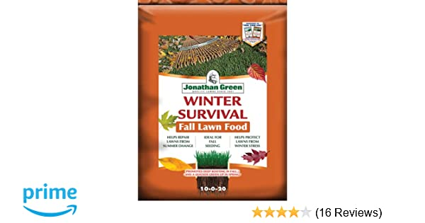 Jonathan Green & Sons Inc 12400 10-0-20 Winter Survival Fall Fertilizer, 1