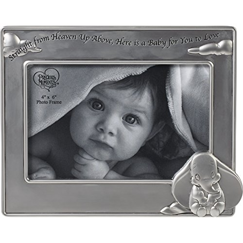 Precious Moments Disney Showcase, Dumbo Straight From Heaven Above, Here is a Baby for You To Love Zinc Alloy Photo Frame, 172704 (New Home Blessing Basket)