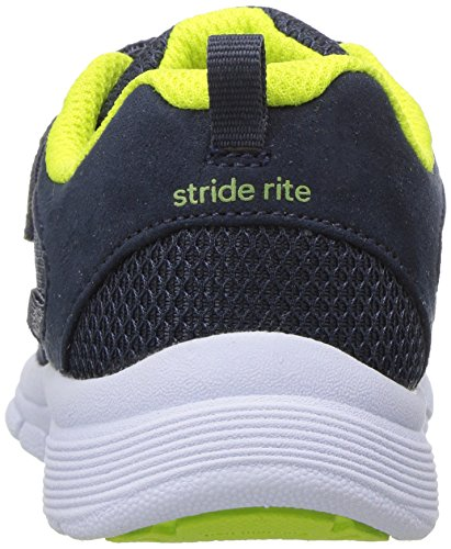 Stride Rite Boys' Made 2 Play Taylor Sneaker, Navy, 1 M US Little Kid by Stride Rite (Image #2)