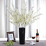 1 Bounquet Artificial Jasminum Artificial Flowers for Home Decor without Vase & Basket, 1 Flower, Yellow