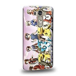 Case88 Premium Designs Digimon Adventure Augmon Greymon MetalGreymon WarGreymon 0956 Carcasa/Funda dura para el LG G3