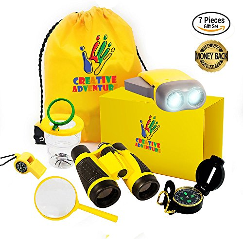 Outdoor Exploration Kit for Kids - Kids Binocular Set For Boys and Girls