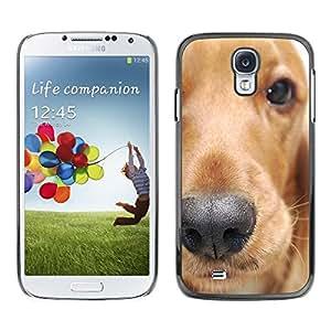 Be Good Phone Accessory // Dura Cáscara cubierta Protectora Caso Carcasa Funda de Protección para Samsung Galaxy S4 I9500 // Golden Retriever Dog Animal Pet