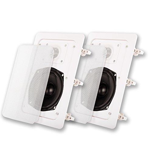 Acoustic Audio IW-191 In Wall Speaker Pair 2 Way Home