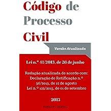 Código de Processo Civil Português (Versão Setembro 2015): Lei n.º 41/2013, de 26 de Junho