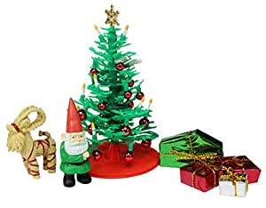 dollhouse accessories - Christmas Tree Accessories