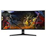LG 34UC89G-B 34-Inch 21:9 Curved UltraWide IPS Gaming Monitor with G-SYNC For Sale