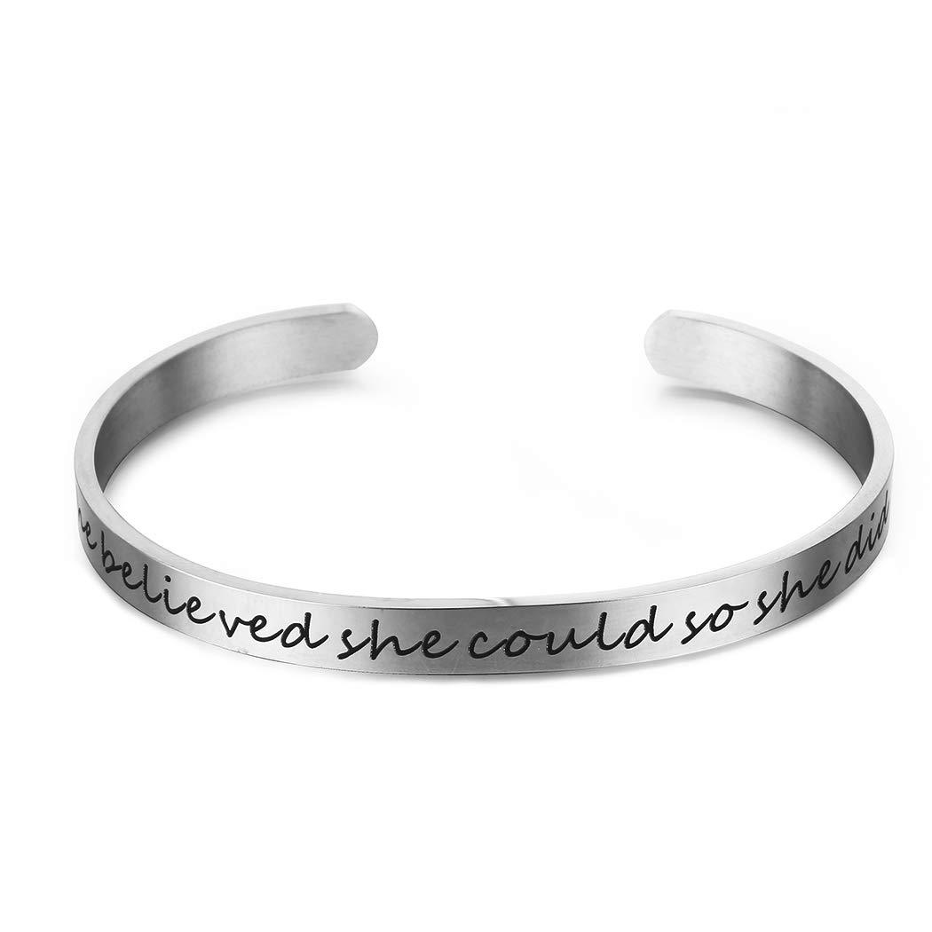 Friendship Bracelet Jewelry Inspirational Bracelet Cuff Bangle du fangbin