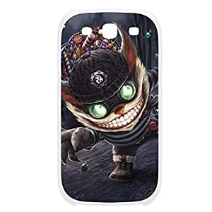 Ziggs-004 League of Legends LoL case cover Samsung Galaxy Note4 Plastic White