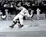 "Pete Rose Cincinnati Reds Autographed 16"" x 20"" Collision with Catcher Photograph - Fanatics Authentic Certified"