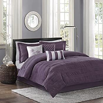 Madison park hampton 7 piece comforter set for Kitchen queen set