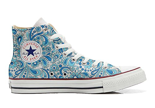 mys Converse All Star Customized - Zapatos Personalizados (Producto Artesano) Happy Paisley