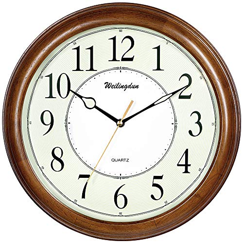 TXL Wooden Wall Clock 12.6