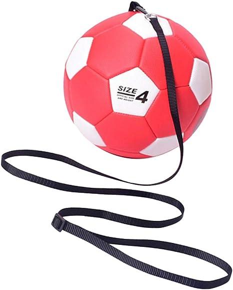 SaniMomo Niños Entrenando Fútbol con Cuerda Tamaño Balón De Fútbol ...
