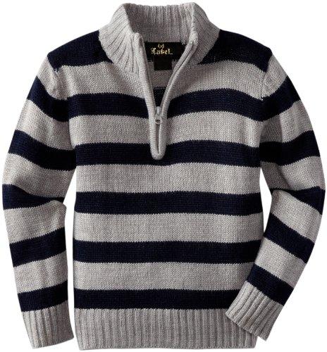 X-Label Boys 2-7 Rugby Stripe Sweater