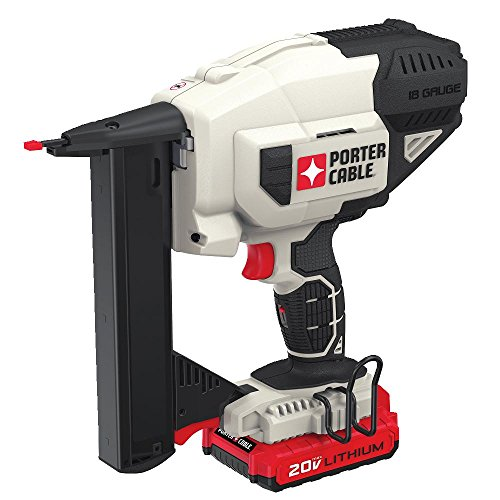 PORTER-CABLE PCC791LA 20V Max Lithium 18 Gauge Narrow Crown Stapler Kit
