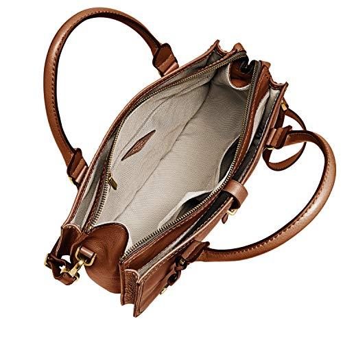 Fossil Women's Ryder Leather Satchel Purse Handbag 6