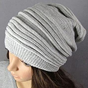 9c2cb0818bf Hot Fashion Slouch Baggy Beanie Cap Slouchy Skull Hat Mens Womens Knit Hat   Amazon.co.uk  Beauty