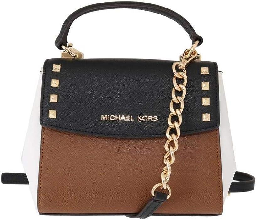 965582246ff8c7 Michael Kors Karla Mini Convertible Saffiano Leather Crossbody Handbag