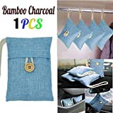 zip vac freezer bags - Bamboo Charcoal Package, Yezijin 1pcs Bag Car Bamboo Charcoal Activated Carbon Air Freshener Odor Deodorant New (Blue)