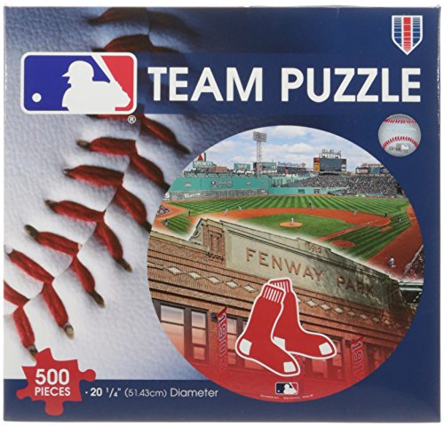 WinCraft MLB Boston Red Sox Puzzle in Box (500 Piece)