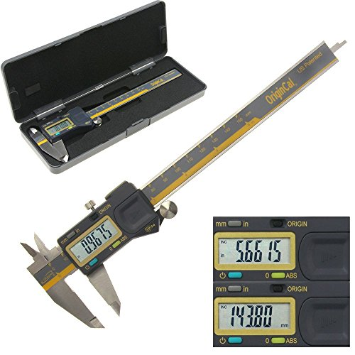 iGaging ABSOLUTE ORIGIN 0-6' Digital Electronic Caliper - IP54 Protection/Extreme Accuracy