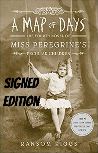 A Map of Days (Miss Peregrine's Home) AUTOGRAPHED Ransom Riggs (SIGNED BOOK)