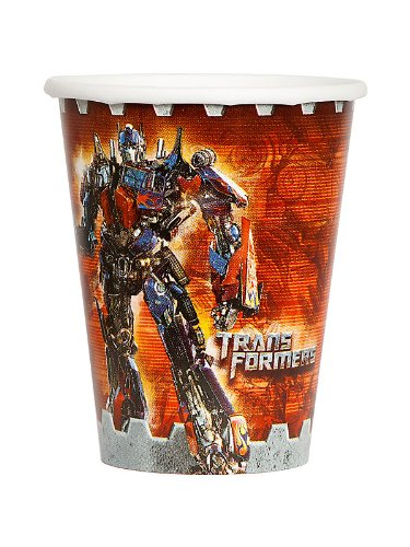 Transformers 'Dark of the Moon' Paper Cups (8ct)