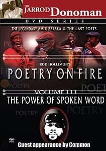Poetry on Fire, Vol. III: The Power of Spoken Word