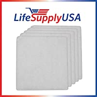 10 Pack LifeSupplyUSA Aftermarket Replacement Pre-Filter Pads designed to fit IQ Air Iqair PF40