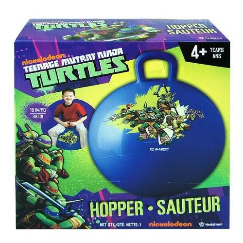 Teenage Mutant Ninja Turtles Hedstrom Hopper Ball, Blue Hop Ball for Kids, 15-Inch (Lego Teenage Mutant Ninja Turtles Toys R Us)