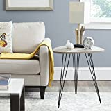 Safavieh Home Collection Wolcott Mid-Century Modern Grey and Black Side Table Review