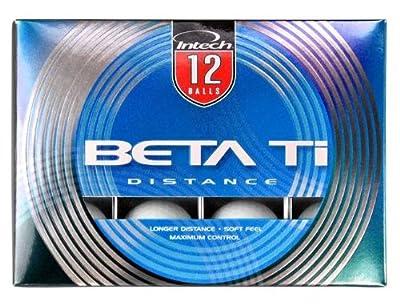 Intech Beta Ti Golf Balls, Pack of 12