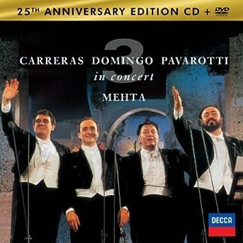 The 3 Tenors In Concert - Terme Di Caracalla Roma [Cd+Dvd] (Korea Edition)