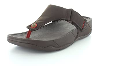 29f25fa54d0 FitFlop Men s Trakk ii Textile Sandal Chocolate Textile - 13