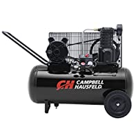 Campbell Hausfeld Air Compressor, 15 gallon Horizontal Portable Single-Stage 5.5CFM 2Hp 120/240V 1Ph (VX4002)