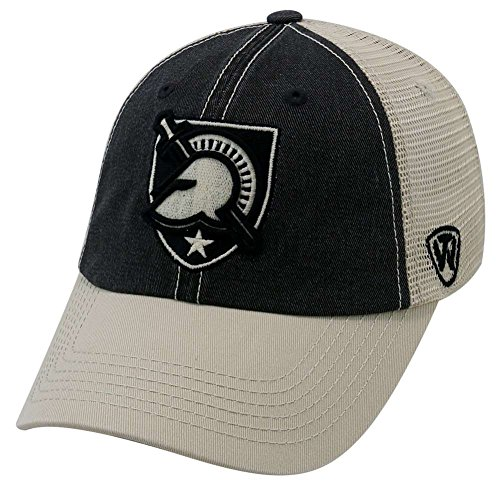 new arrival d77ae 51f60 Air Force Falcons Military Hats. Top of the World NCAA Army Black Knights  Offroad Snapback Mesh Back Adjustable Hat, One Size ...