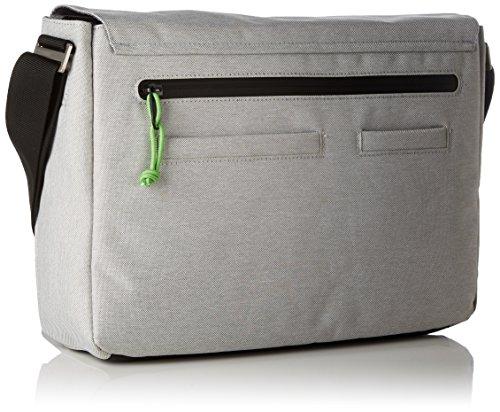 Bree Punch Style 62 Messenger 34 cm Grigio (Light Grey)