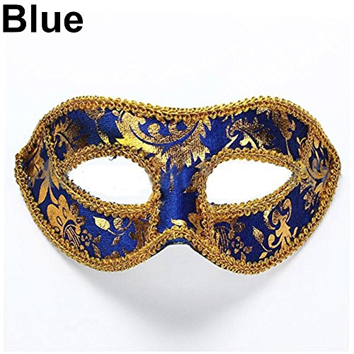 Blackzone Men'Mask,Blackzone Classic Foiled Costume Eye Mask Masquerade Party Cosplay Fancy Ball (Masked Ball Outfit)