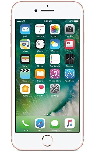 Apple iPhone 7, AT&T, 32GB - Rose Gold (Renewed)