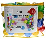 Oojami Phthalate Free BPA Free Crush Proof Plastic Balls, Pit Balls with 6 Bright Colors, Pack of 400