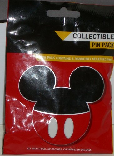 - Disney Pins - Mickey Mouse Icon Mystery Pouch Pins 86540