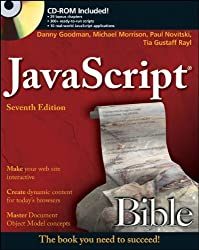 JavaScript Bible (Bible (Wiley))